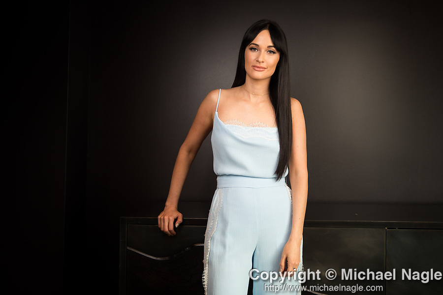 NEW YORK, NY -- DECEMBER 06, 2018:  Singer Kacey Musgraves poses for a portrait at at 1 Hotel Brooklyn Bridge on December 06, 2018 in Brooklyn, NY  Photograph by Michael Nagle
