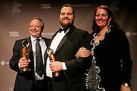 March, 23, 2014 - JUTRAS Awards Gala - Christian Larouche, Antoine Bertrand, Meilleur acteur :  Louis Cyr : l'homme le plus fort du Monde