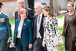 "Eduardo Mendoza Garriga and Queen Letizia during award ceremony of literature in Spanish ""Miguel de Cervantes"" at University of Alcala de Henares in Madrid., April 20, 2017. Spain.<br /> (ALTERPHOTOS/BorjaB.Hojas)"