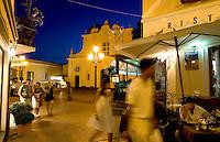Italien, Capri, Restaurant bei Santa Sofia in Anacapri