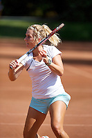 August 12, 2014, Netherlands, Raalte, TV Ramele, Tennis, National Championships, NRTK,  Kim van der Horst (NED)<br /> Photo: Tennisimages/Henk Koster