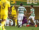 Villarreal's Gerard (23) scores their fourth goal.