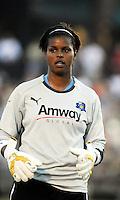 Karina LeBlanc..Saint Louis Athletica were defeated 2-1 by LA Sol at Anheuser-Busch  Soccer Park, Fenton, Missouri.