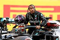 13th September 2020; Mugello race track, Scarperia e San Piero, Tuscany, Italy ; Formula 1 Grand Prix of Tuscany, Race Day;  44 Lewis Hamilton GBR, Mercedes-AMG Petronas Formula One Team takes the win