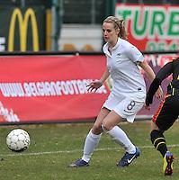 France U19 - Belgium U19 : Sandie Toletti.foto DAVID CATRY / Nikonpro.be