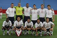 USA team, Honduras v USA, 2004.
