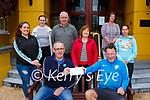 Patrick Hughes right is presented the winnings of the Killarney Park Hotel staff treasure hunt at the Hotel on Monday by PC Casey with back l-r: Francesca Greppo, Ava O'Doherty, John O'Shea, Noreen McSweeney, Ann O'Grady, Gimea Gulkai