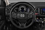 Car pictures of steering wheel view of a 2016 Honda HRV Executive 5 Door Suv Steering Wheel