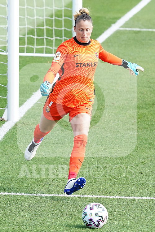 First official match and first classic in the history of women's Real Madrid.<br /> FC Barcelona's Sandra Panos during Spanish Female League match. October 4,2020. (ALTERPHOTOS/Acero)