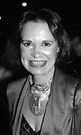 Gloria Vanderbilt attending a benefit on December 1, 1984 in New York City