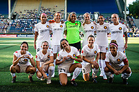 Seattle, WA - Wednesday, July 11, 2018: Seattle Reign FC vs Utah Royals at the UW Medicine Pitch at Memorial Stadium.