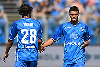 Mg Como 11/09/2021 - campionato di calcio serie B / Como-Ascoli / photo Image Sport/Insidefoto<br /> nella foto: Ismail H'Maidat-Luca Vignali