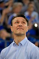 18.04.2018, Football DFB Pokal 2017/2018, semi final , FC Schalke 04 - Eintracht Frankfurt, in Veltins Arena auf Schalke. Trainer Niko Kovac (Eintracht Frankfurt). *** Local Caption *** © pixathlon<br /> <br /> Contact: +49-40-22 63 02 60 , info@pixathlon.de
