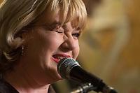La candidate pequiste Sophie Stanke, mars 2014.<br /> <br /> PHOTO : Agence Quebec Presse <br /> - Denis Germain
