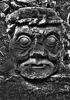 God Itzamna C. 159 AD. Copan Honduras