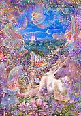 Liz,USHC,fairy,fantasy,unicorns,castle,paintings+++++,USHCLD0238,#x#