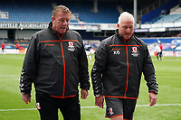 Middlesbrough coaching staff enter the stadium during the warm up<br /> <br /> Photographer Stephanie Meek/CameraSport<br /> <br /> The EFL Sky Bet Championship - Queens Park Rangers v Middlesbrough - Saturday 26th September 2020 - Loftus Road - London <br /> <br /> World Copyright © 2020 CameraSport. All rights reserved. 43 Linden Ave. Countesthorpe. Leicester. England. LE8 5PG - Tel: +44 (0) 116 277 4147 - admin@camerasport.com - www.camerasport.com