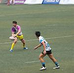 XBlades Rowzy Pegasi VS CRFA Gladiators GFI HKFC Rugby Tens 2016 on 07 April 2016 at Hong Kong Football Club in Hong Kong, China. Photo by Juan Manuel Serrano / Power Sport Images