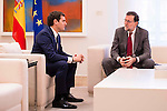 Secretary General for the Partido Popular received in the Moncloa to the secretary general of Ciudadanos, Albert Rivera in Madrid, December 28 2015. <br /> (ALTERPHOTOS/BorjaB.Hojas)