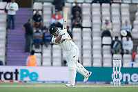 Ross Taylor, New Zealand clips to the square boundary for four and the winning runs during India vs New Zealand, ICC World Test Championship Final Cricket at The Hampshire Bowl on 23rd June 2021