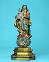 Imagem original da Santa de Nossa Senhora de Nazaré que se encontra na Basílica de Nazaré em Belém- Pará-Brasil<br />©Foto: Paulo Santos/ Interfoto<br />Cromo 120 P1 C2