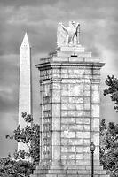 Memorial Bridge Washington Monument Washington DC