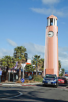 Gisborne Clocktower, Gladstone Street, north island, New Zealand.