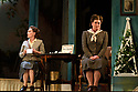 """Buxton International Festival presents """"Albert Herring"""", by Benjamin Britten, at Buxton Opera House, Buxton, Derbyshire.  Picture shows: Lucy Schaufer (Florence Pike), Yvonne Howard (Lady Billows)"""