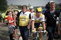 race winner Dylan Groenewegen (NLD/LottoNL-Jumbo) post-race<br /> <br /> Heistse Pijl 2016