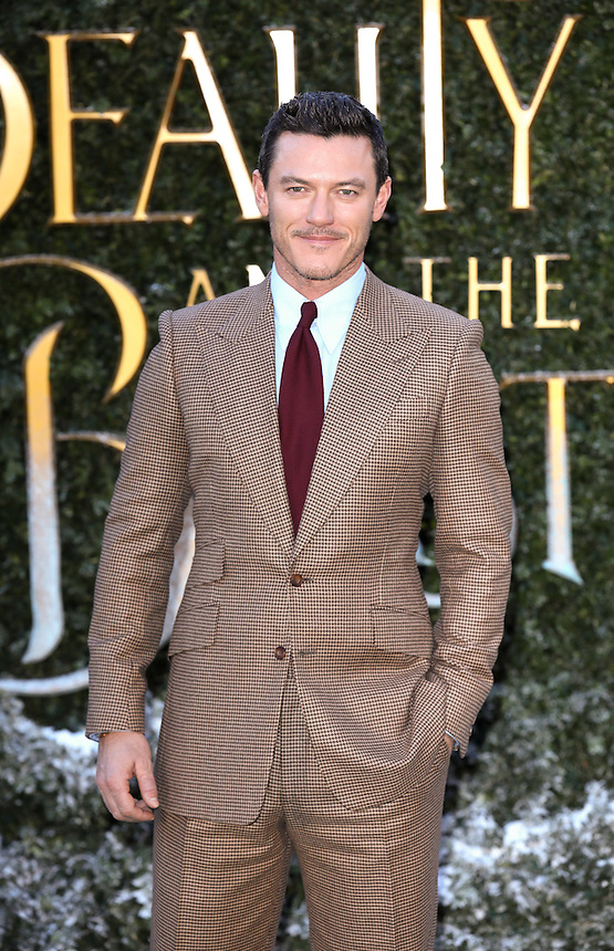 "Luke Evans<br /> arrives for the ""Beauty and the Beast"" screening, St.James', London.<br /> <br /> <br /> ©Ash Knotek  D3234  23/02/2017"