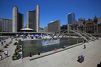 Toronto (ON) CANADA - July 2012 - Toronto City Hall