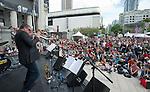 Barry Elmes Quintet at Robson Square.