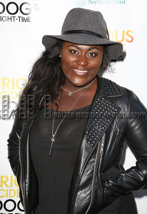 Danielle Brooks attends the Broadway Opening Night Performance of 'The Curious Incident of the Dog in the Night-Time'  at the Barrymore Theatre on October 5, 2014 in New York City.