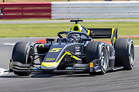 16th July 2021; Silverstone Circuit, Silverstone, Northamptonshire, England; F2 British Grand Prix, Free Practice; Dan Tinktum in his Carlin Dallara F2 2018