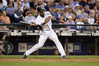 July 5, 2008: Seattle Mariners third baseman Adrian Beltre at-bat during a game against the Detroit Tigers at Safeco Field in Seattle, Washington.