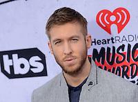 Calvin Harris @ the 2016 iHeart Radio Music awards held @ the Forum.<br /> April 3, 2016
