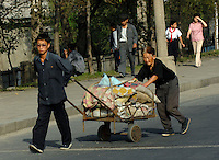 PyongYang city scene, North Korea.