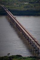 Ponte rodoferroviária de Marabá.<br /> <br /> Velha Marabá, cidade nova e nova Marabá, além de loteamentos na Transamazônica, pontes sobre os rios Tocantins e Itacaiunas, principais avenidas VP8, empresas.<br /> Marabá, Pará, Brasil.<br /> 20/05/2011