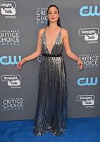 Gal Gadot at the 23rd Annual Critics' Choice Awards at Barker Hangar, Santa Monica, USA 11 Jan. 2018<br /> Picture: Paul Smith/Featureflash/SilverHub 0208 004 5359 sales@silverhubmedia.com