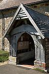 All Saints Church Mountfield Kent UK. The Medieval porch. 2013, 2010s UK