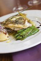 Europe/France/Bretagne/Ille et Vilaine/ Saint-Malo:  Saint-Pierre au beurre d'Algue recette de Pascal Poisson du Restaurant Coté  Sens Intramuros