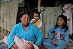 A Bhutanese mother and her children. Thimpu.  Arindam Mukherjee..