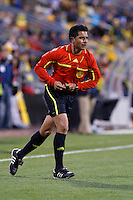 8 MAY 2010:  Referee Ramon Hernandez during MLS soccer game between New England Revolution vs Columbus Crew at Crew Stadium in Columbus, Ohio on May 8, 2010.