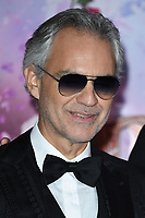 """Andrea Bocelli<br /> arriving for the European premiere of """"The Nutcracker and the Four Realms"""" at the Vue Westfield, White City, London<br /> <br /> ©Ash Knotek  D3458  01/11/2018"""