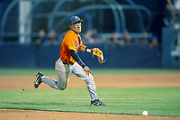 Cal State Fullerton Titans Sahid Valenzuela (4) in action against the University of Washington Huskies at Goodwin Field on June 10, 2018 in Fullerton, California. The Huskies defeated the Titans 6-5. (Donn Parris/Four Seam Images via AP Images)