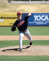 Tim Herrin - Cleveland Indians 2019 extended spring training (Bill Mitchell)