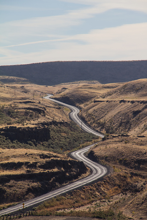 Eastern Washington, Franklin County, State Highway 261, road trip,