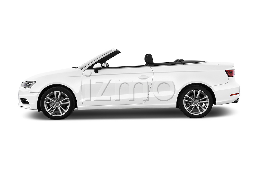 Car Driver side profile view of a 2015 Audi A3 Ambition 2 Door Convertible 2WD Side View