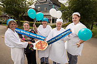 Pictured at the Bartlewood Lodge from left are Sandra Foster, Assistant Manager Jade Clifton, Pauline Goddard, Alice Broadbelt and Rachel Bryan