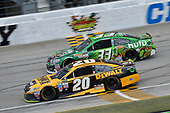 Monster Energy NASCAR Cup Series<br /> Tales of the Turtles 400<br /> Chicagoland Speedway, Joliet, IL USA<br /> Sunday 17 September 2017<br /> Matt Kenseth, Joe Gibbs Racing, DEWALT Flexvolt Toyota Camry, Jeffrey Earnhardt, Circle Sport / TMG, hulu Chevrolet SS<br /> World Copyright: Logan Whitton<br /> LAT Images
